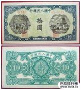 10元人民币背面图案是哪里?第五套是长江三峡