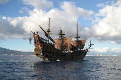 世界十大著名海盗船,冒险桨帆船号上榜