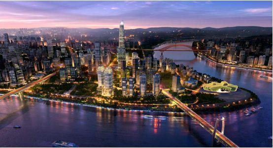 重庆2019年十大高楼排名,第一名高470m
