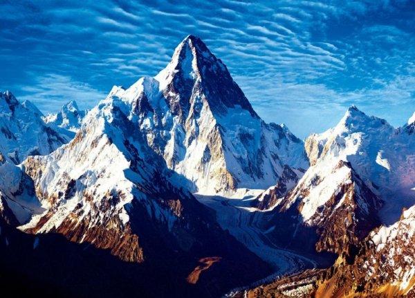 世界十大最难攀登的山峰,第一名是乔戈里峰