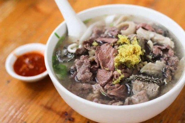潮州牌坊街十大美食小吃,牛杂粿条第一名