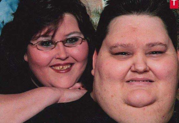 世界上最胖的夫妻,两人体重合计超过1千斤
