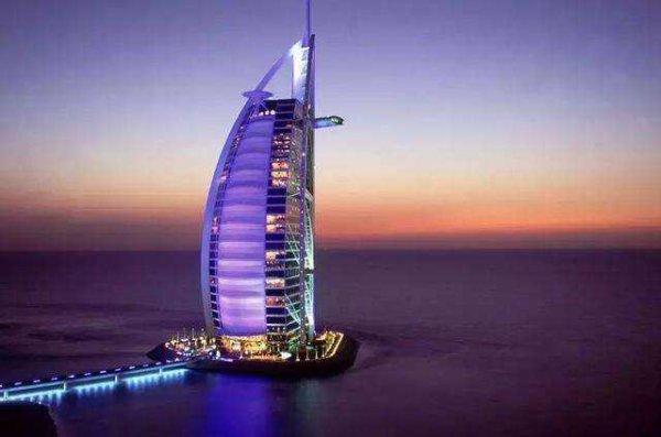 世界上最豪华的酒店在哪里?迪拜帆船酒店