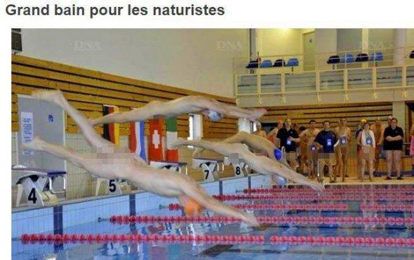 世界上最奇葩的游泳比赛,选手观众必须全脱光