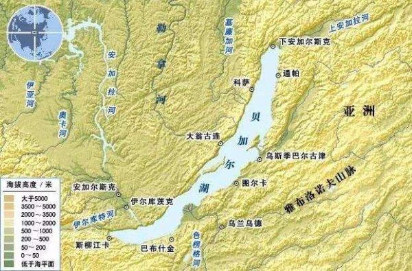 世界上最古老的湖泊,贝加尔湖占据20%淡水