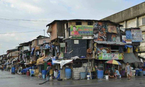 世界第一大贫民窟在哪里?马尼拉贫民窟