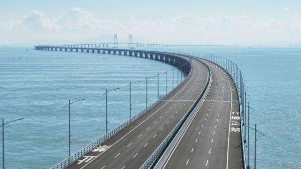 港珠澳大桥全长多少公里?全长55公里