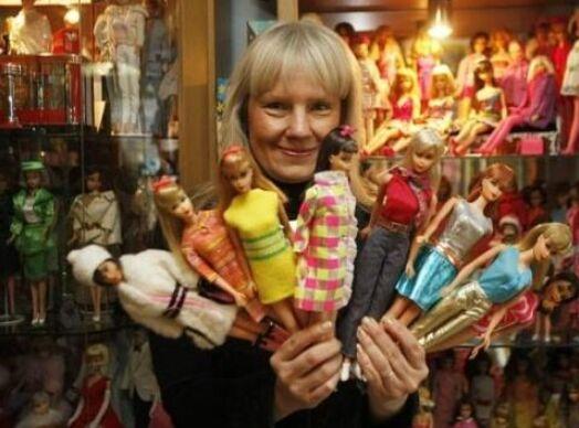 吉尼斯纪录世界之最,芭比娃娃收集最多的人