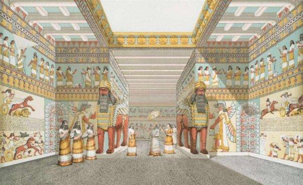 世界上最古老的图书馆,距今已有2800年历史