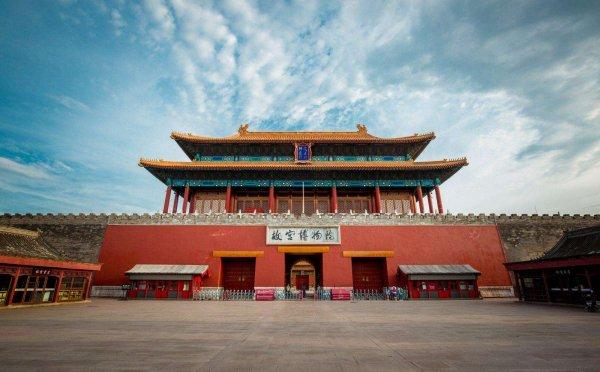 故宫四个大门:午门、神武门、东华门、西华门
