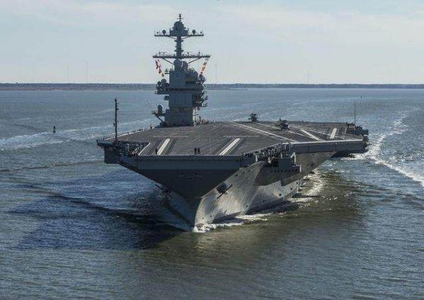 世界上最长的航空母舰,企业号全长342.3米