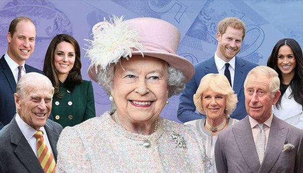 英国王室富豪榜,英国女王身家居于榜首