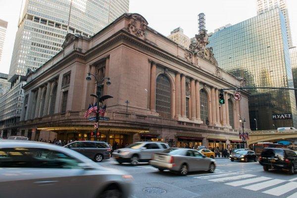 世界上最长的火车站台,美国纽约中央车站