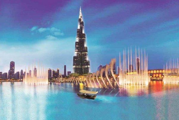 世界上最大最壮观的喷泉 迪拜音乐喷泉耗资15亿