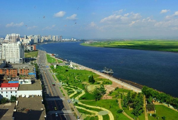 中国最大的边境城市—丹东市