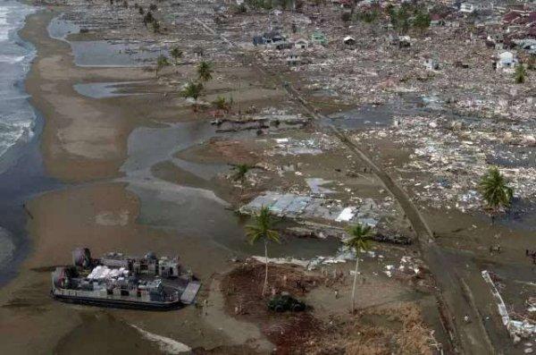 全球十大最致命的地震,印度洋海啸23万人死亡