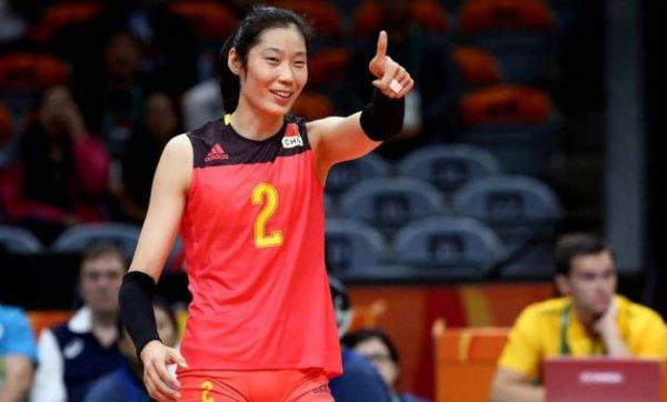 2019中国女排十大球员排名,朱婷稳坐第一宝座