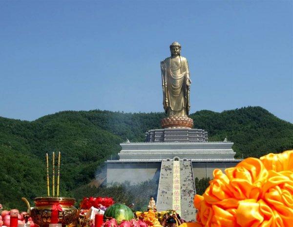 中国十大巨型佛像排行榜,中原大佛高208米