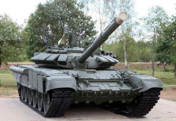 世界上使用最广泛的坦克,T-72主战坦克