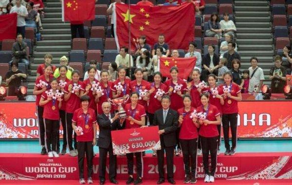 2019年国内十大体育新闻 中国女排世界杯成功卫冕