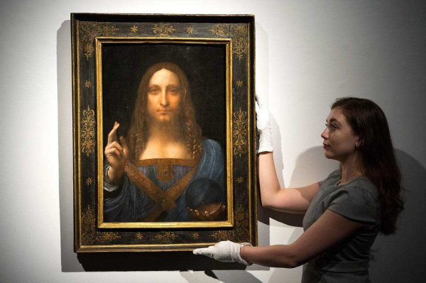 世界上最贵的艺术品,《救世主》价值近30亿