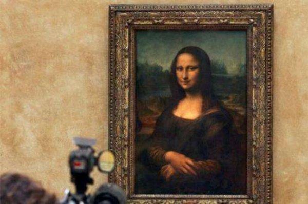 达芬奇十大诡异的画,《蒙娜丽莎》最出名