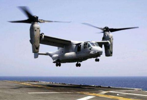 世界上速度最快的直升机,V-22式鱼鹰运输机
