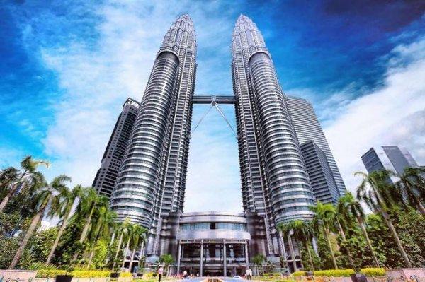 世界上最高的双塔楼,吉隆坡石油双塔