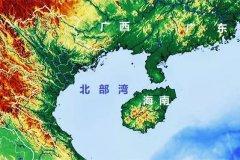 中国最大的五大海湾,北部湾面积最大