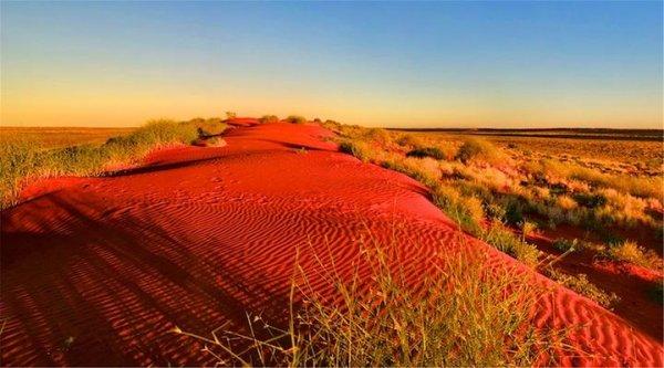 世界上最红的沙漠,辛普森沙漠红如火焰