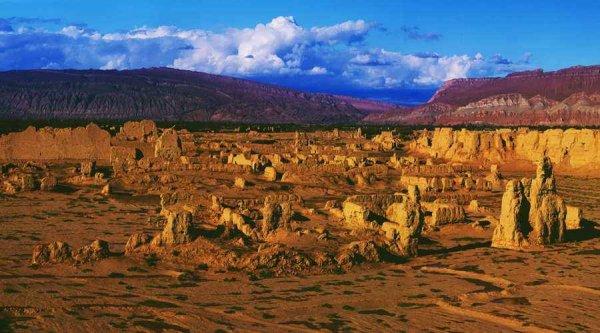 世界上最低的盆地,吐鲁番盆地低于海平面154米