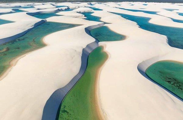 世界上湖泊最多的沙漠,巴西马拉赫塞斯沙漠