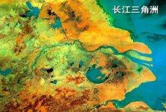 中国最大的三角洲,长江三角洲面积最大