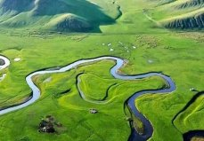 中国四大草原,内蒙古有两个新疆一个