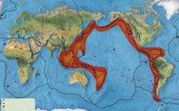 世界三大地震带,环太平洋地震活动最强烈