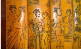 我国古代最早的春画,汉朝时嫁妆画就已经出现