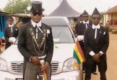 非洲棺材舞是哪个国家的?其实是加纳丧葬文化