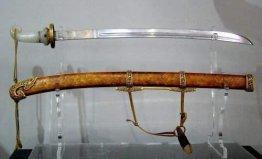 世界上最贵的一把刀,乾隆宝腾腰刀价值千万