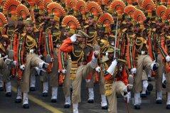 世界上最奇葩的阅兵式:印度共和日阅兵