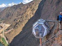 世界上最危险的酒店,胶囊酒店建在400米悬崖
