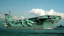 日本寿命最短的航母,信浓号航空母舰