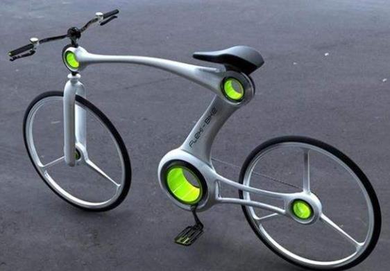 最轻的自行车图片