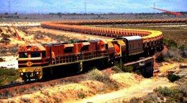 世界上最长的火车,全长7353米8个车头!
