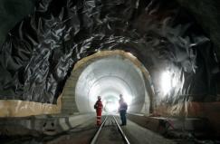 世界上最长的火车隧道,总长达151.84公里