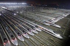 世界最大动车检修基地,武汉动车段占地2100亩