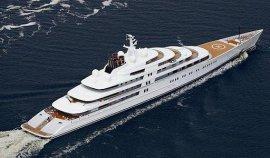 世界上最大的私人游艇,简直是一座海上宫殿!