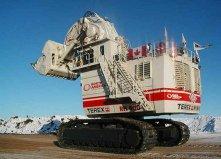 世界上最大的挖掘机,特雷克斯RH400重1008吨