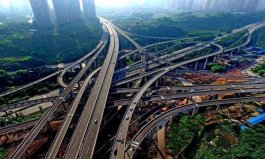 重庆最复杂立交桥,共5层20匝道