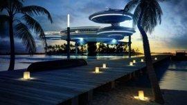 世界最高星级酒店,迪拜海底酒店酷似外星飞船