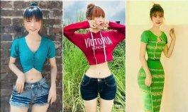 全球腰最细的人,缅甸女孩腰围仅34.7厘米